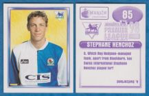 Blackburn Rovers Stephane Henchoz Switzerland